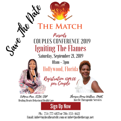 The Match presents Couples Conference 2019, Igniting The Flames