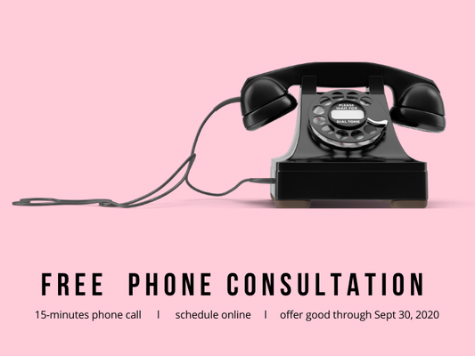 FREE 15-minute  Phone Consultation