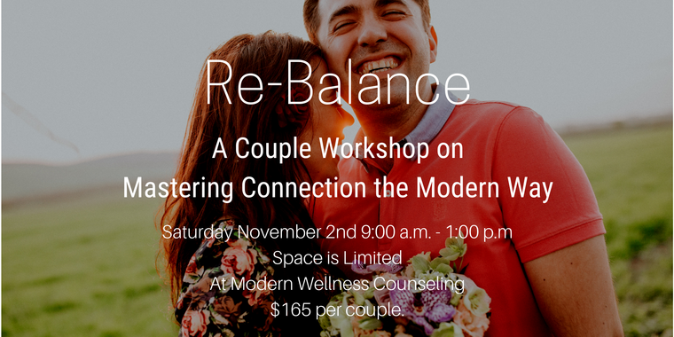 Re-Balance Couple Workshop